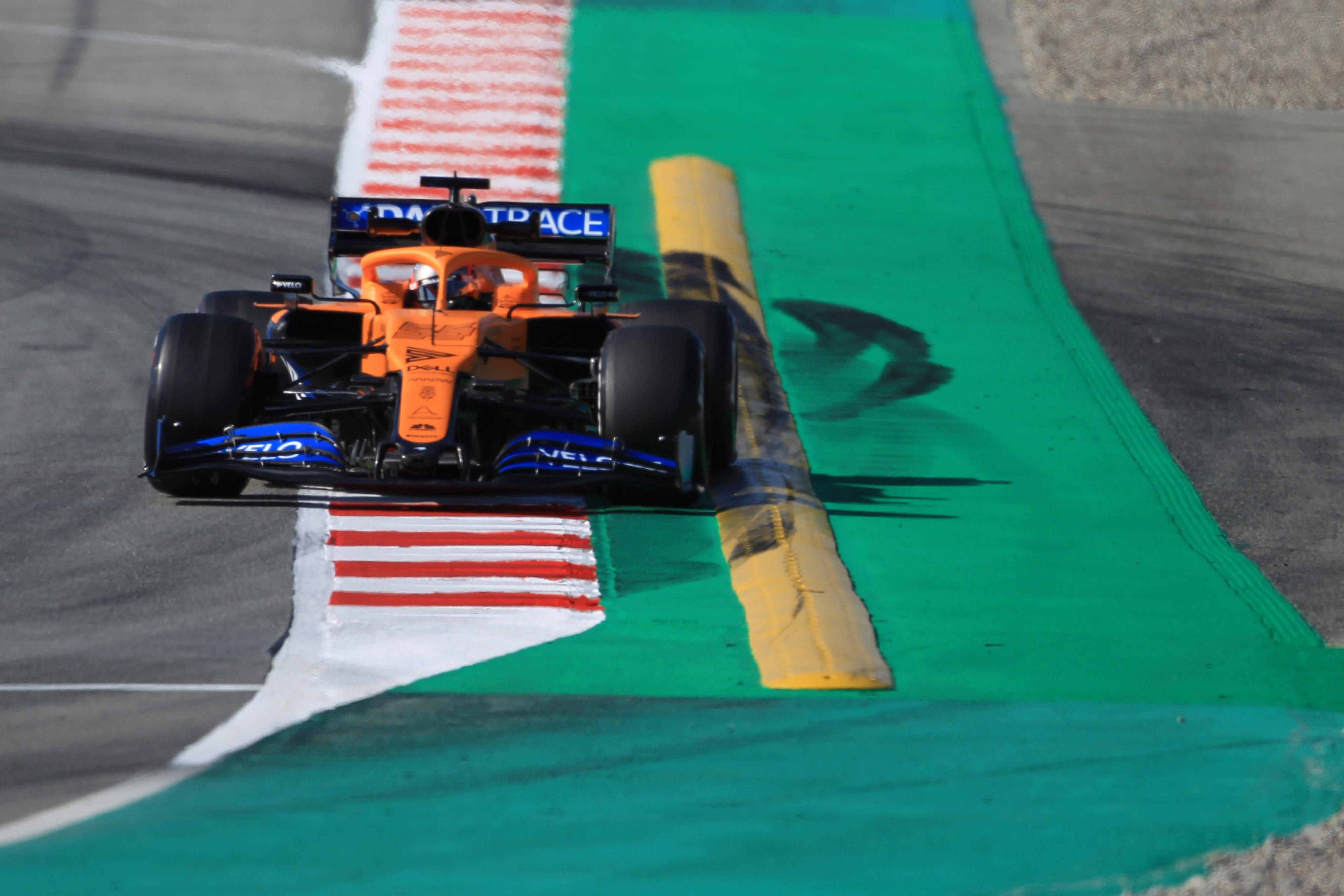 F1 Formula 1 Carlos Sainz McLaren Grand Prix car