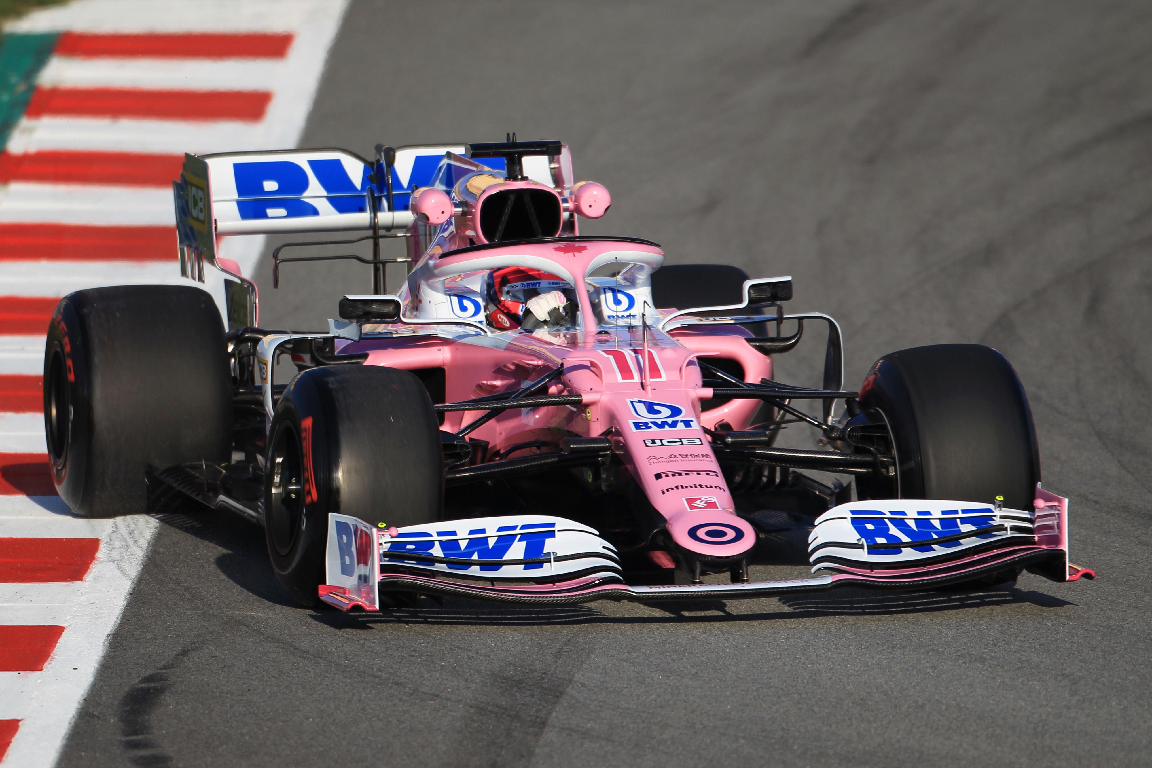 F1 Formula 1 Racing Point Sergio Perez Lance Stroll