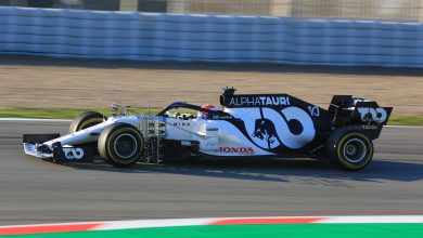 Photo of Results – F1 Testing (Test 1 Day 2)