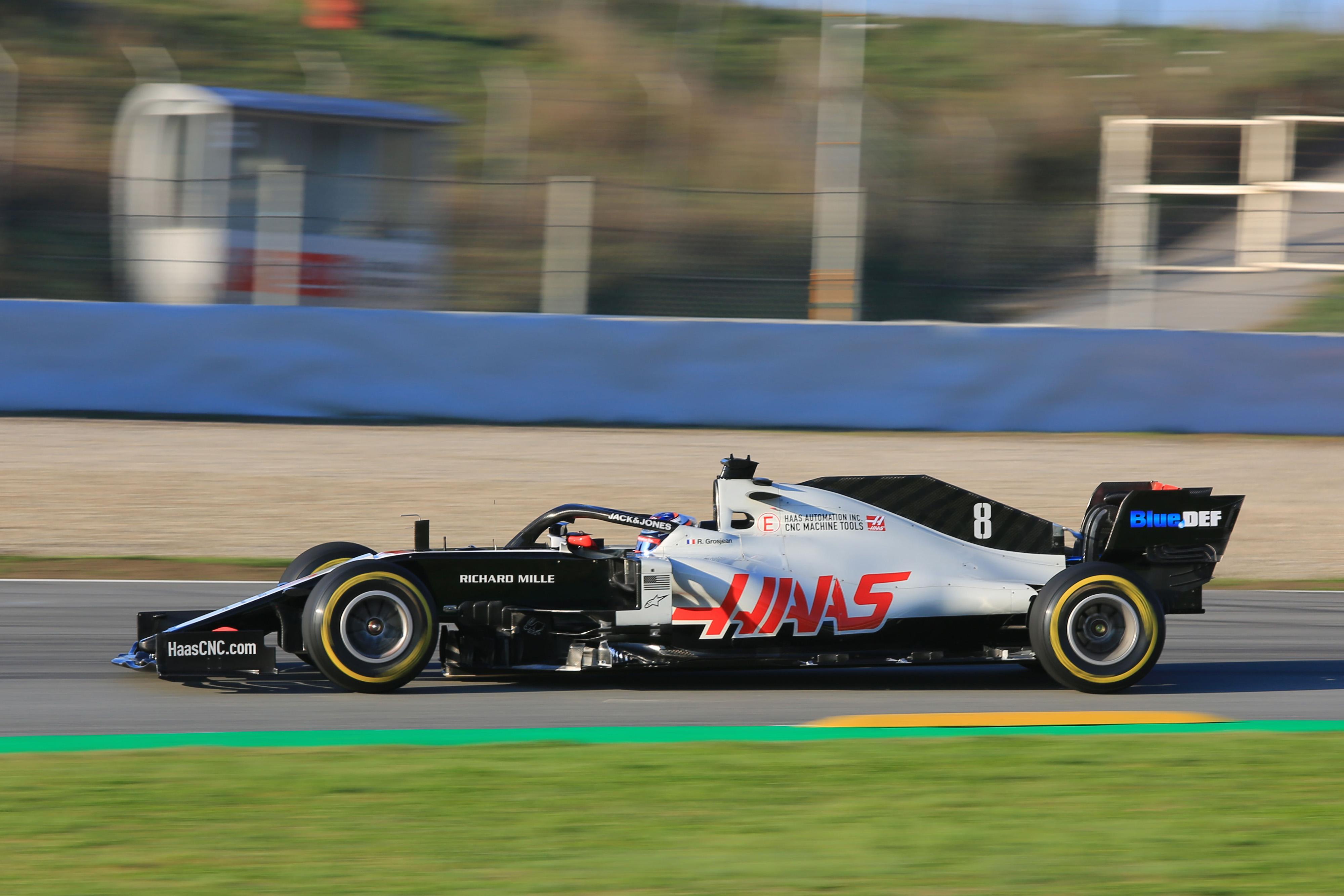 F1 Formula 1 Haas Kevin Magnussen VF20 car