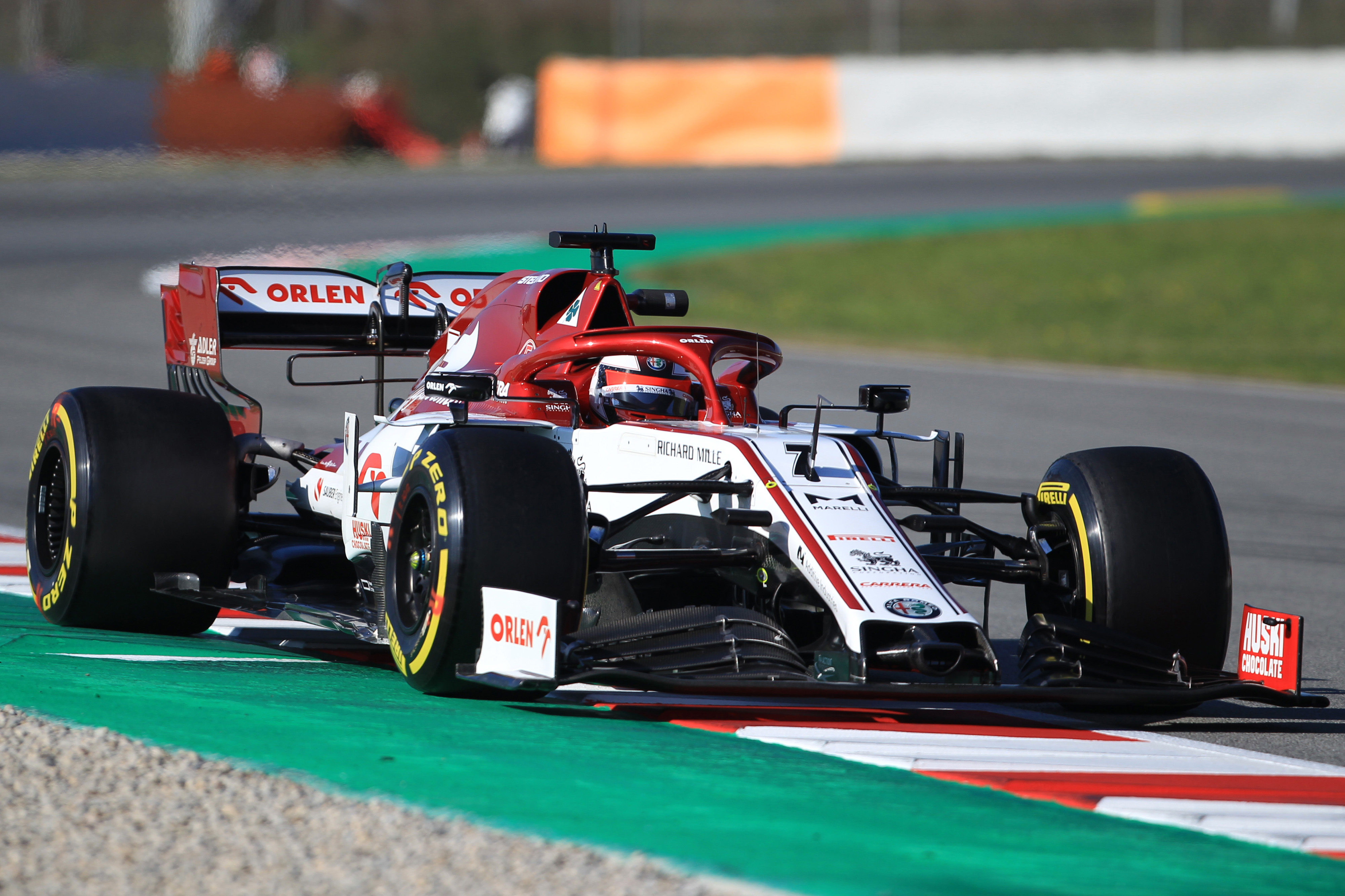Formula 1 - Raikkonen fastest on Day 2 of testing but triggers red ...