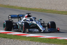 Photo of Bottas smashes testing fastest lap as Vettel breaks down