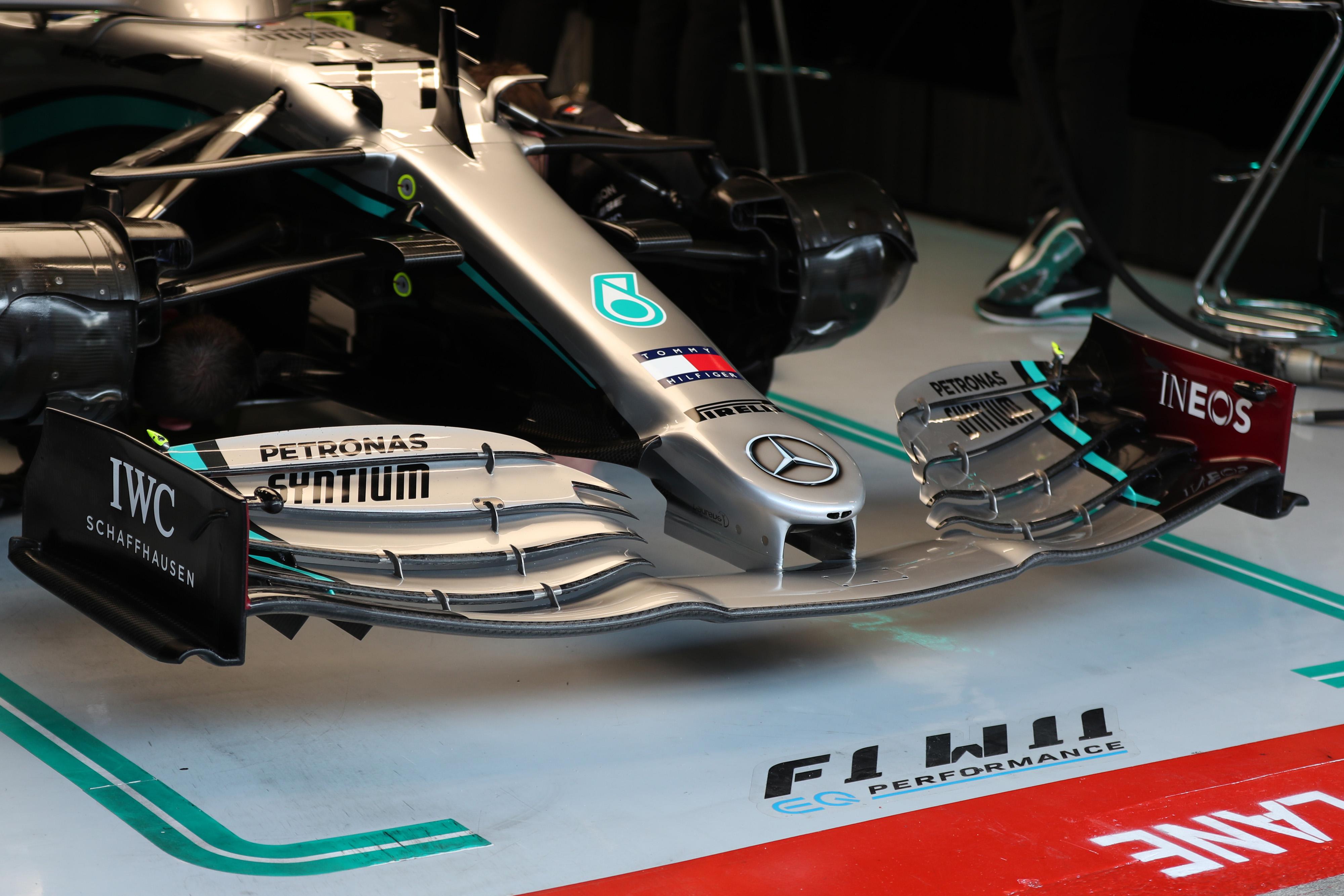 F1 Formula 1 Mercedes team Valtteri Bottas W11 DAS
