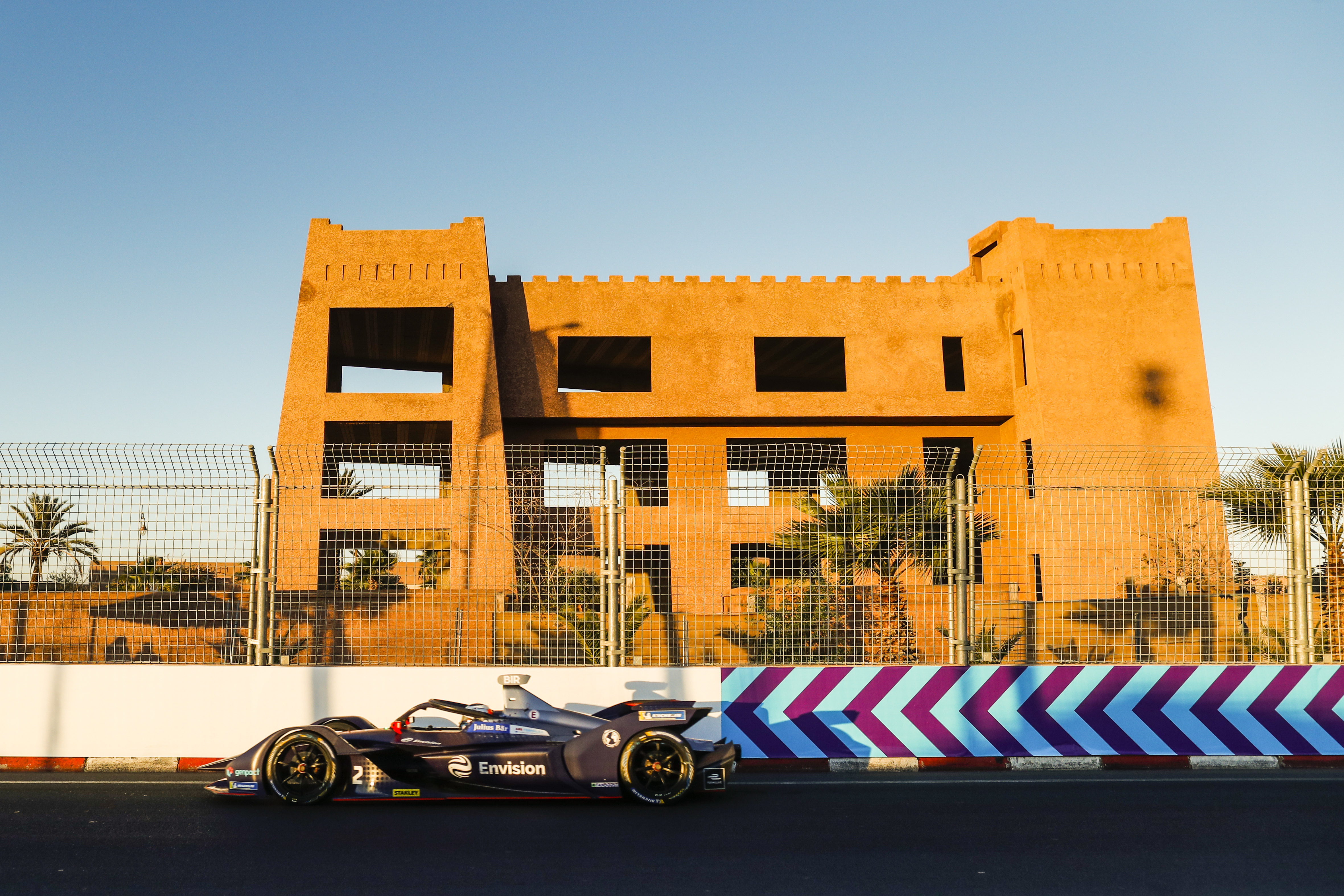 Full driver line-up for the Marrakesh Rookie Test