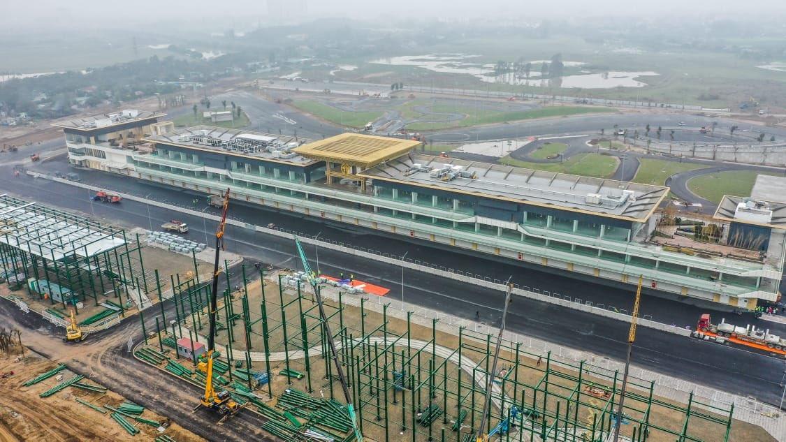 F1 Formula 1 Vietnam Grand Prix Hanoi coronavirus