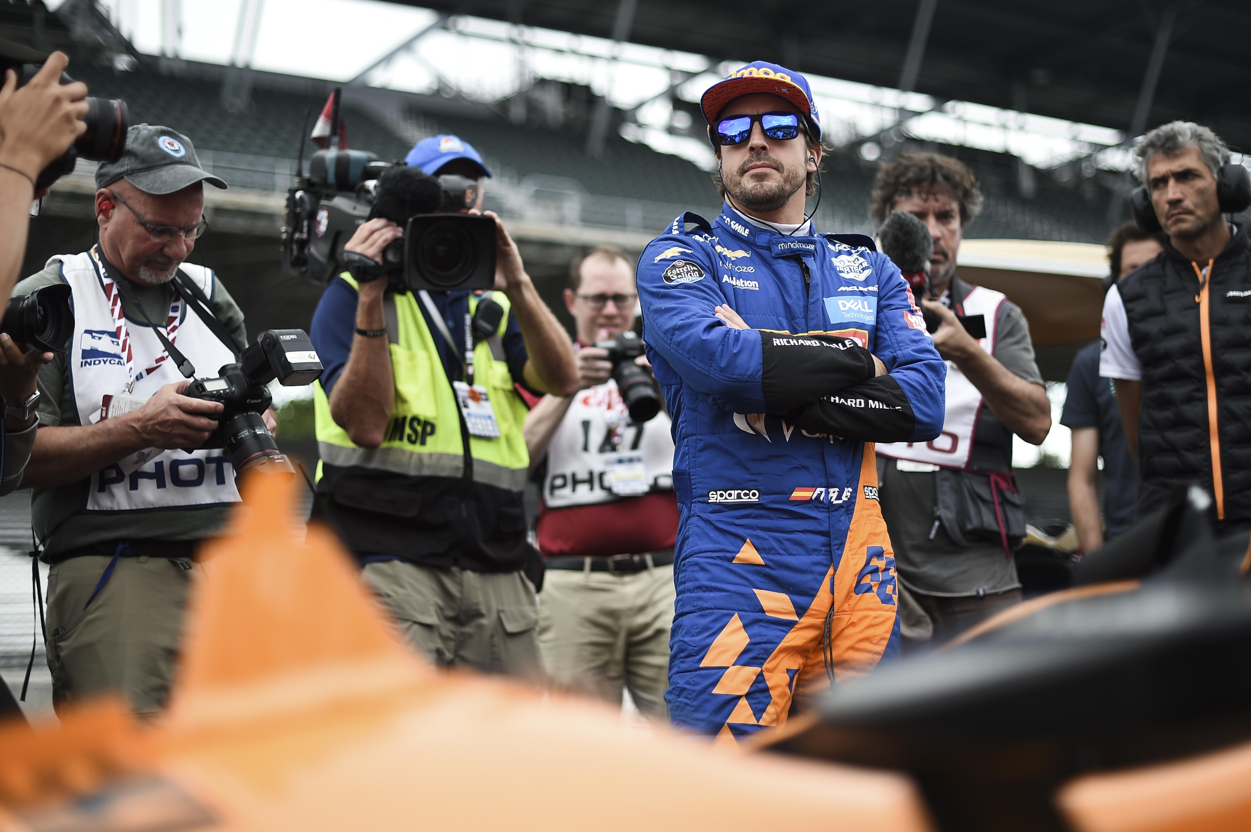 F1 IndyCar Formula 1 Fernando Alonso McLaren Indy 500