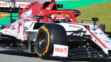 Photo of Kubica quickest on opening morning of second test