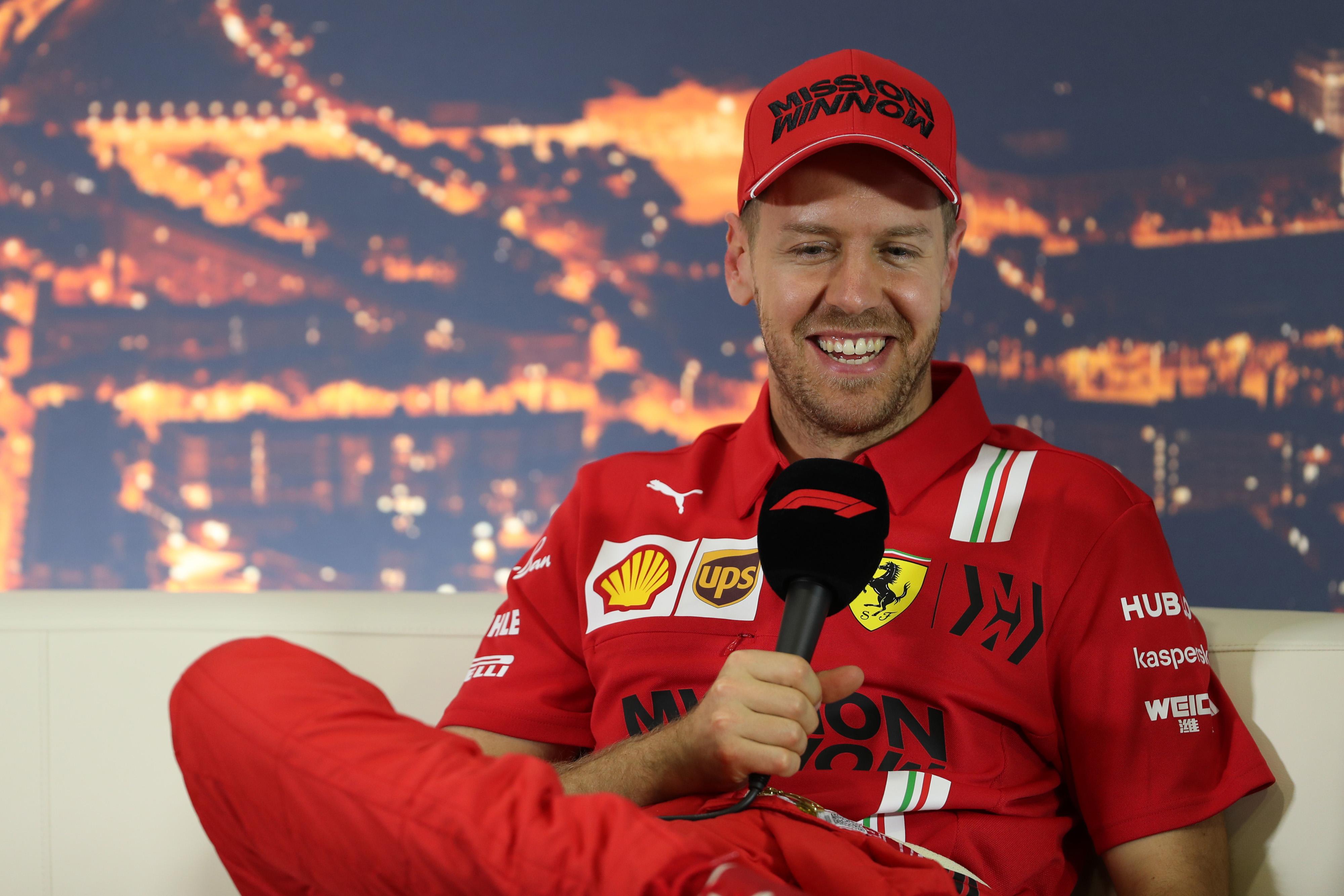 F1 Formula 1 Sebastian Vettel Ferrari CONTRACT