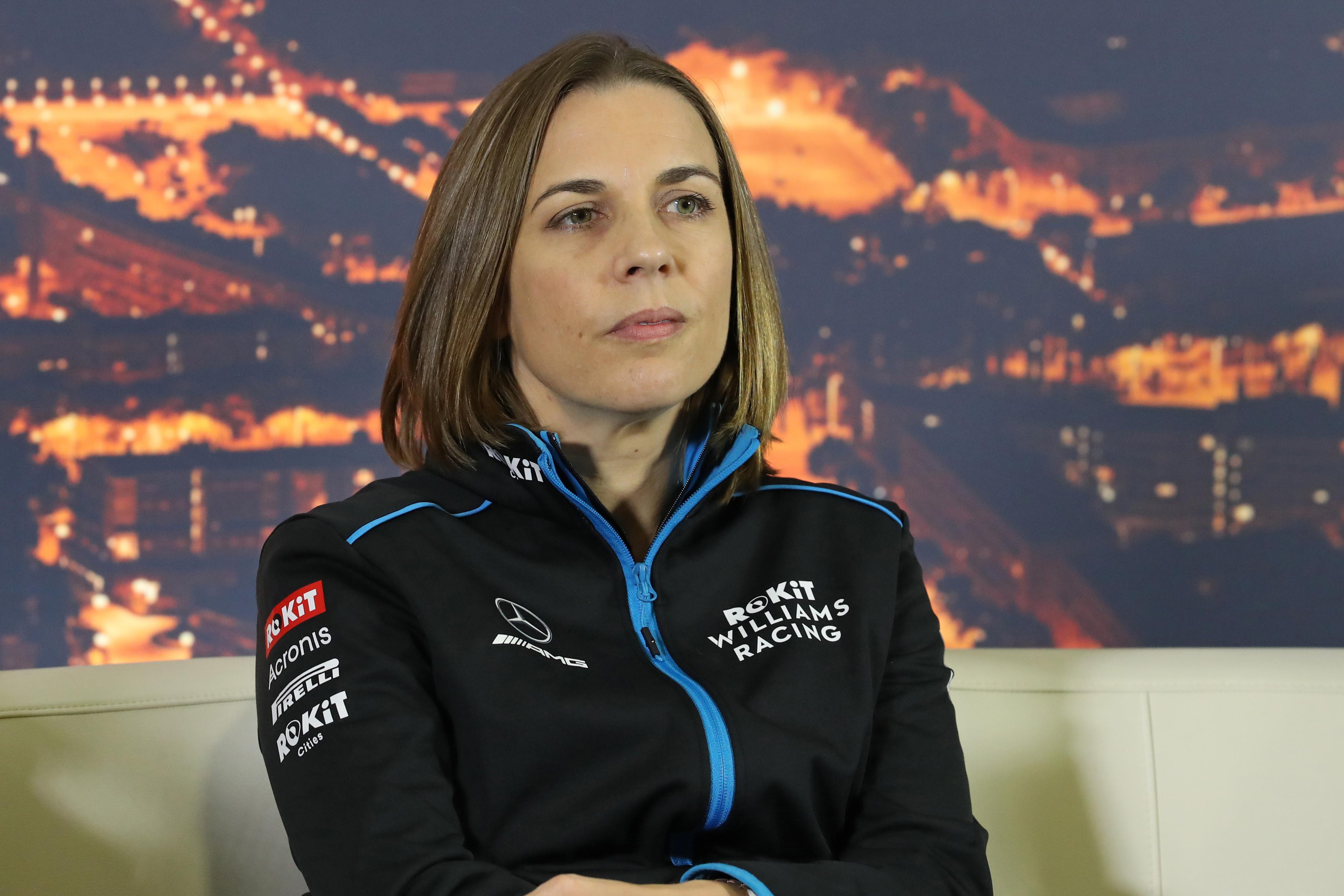 F1 Formula 1 Claire Williams development