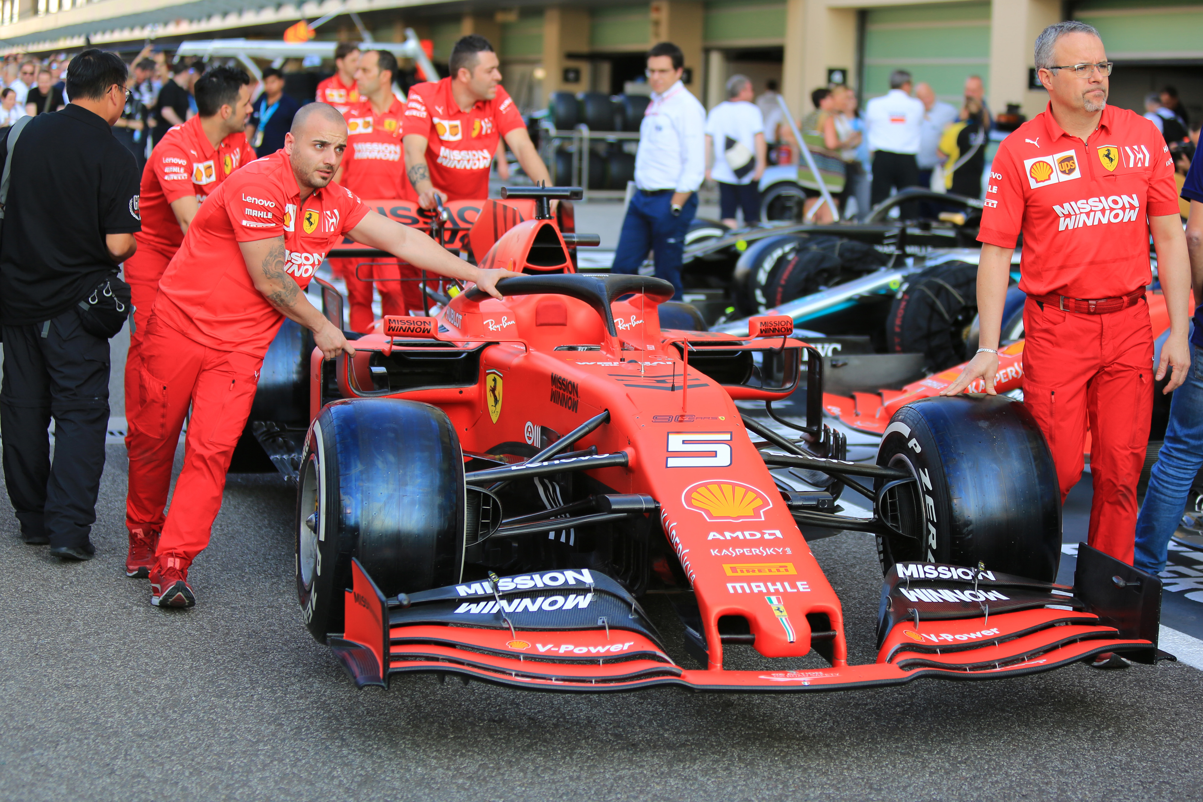 Formula 1 Fia Ferrari Reach Agreement After Power Unit Investigation