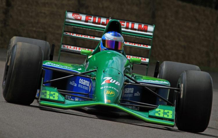 F1 Formula 1 Jordan Ian hutchinson livery