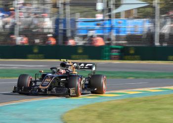 F1 Formula 1 Haas Kevin Magnussen driving style Albert Park