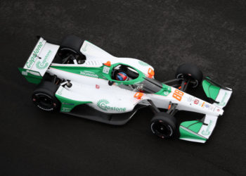 88 IndyCar Andretti Colton Herta fire Grand Prix of St. Petersburg