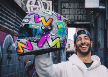 F1 Formula 1 2020 Ferrari Ricciardo Vettel helmet