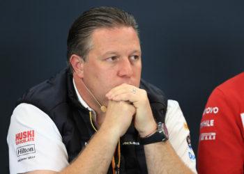 F1 Formula 1 Australian Grand Prix Zak Brown McLaren coronavirus