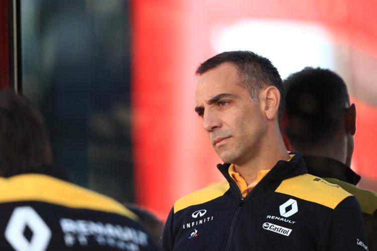 F1 Formula 1 Daniel Ricciardo Cyril Abiteboul Renault