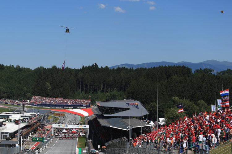 F1 Formula 1 Austrian Grand Prix 2020 season coronavirus