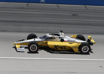 Josef Newgarden Texas Motor Speedway Texas qualifying results Scott Dixon