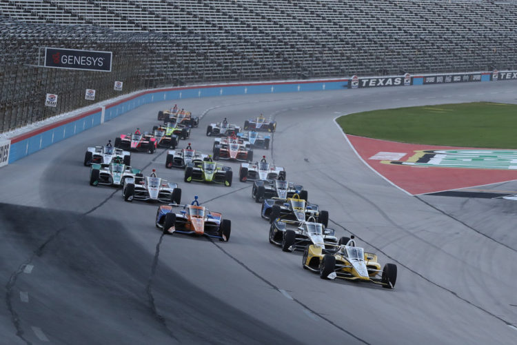 Indycar Texas Motor Speedway Genesys 300 results