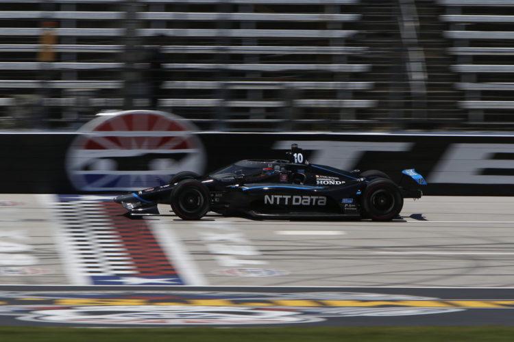 IndyCar Texas Motor Speedway Felix Rosenqvist Chip Ganassi Racing