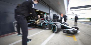Mercedes test Silverstone Formula 1 Bottas