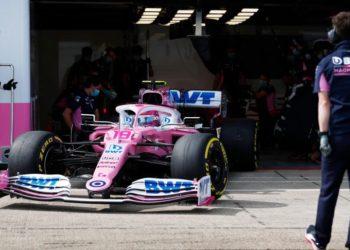 F1 Formula 1 Racing Point Lance Stroll testing