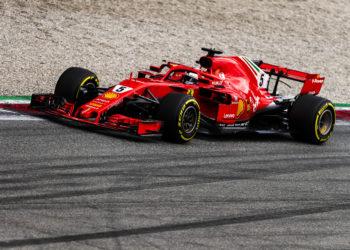 F1 Formula 1 Ferrari testing Mugello