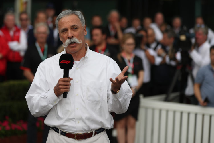 F1 Formula 1 Chase Carey Liberty Media CEO