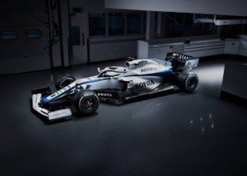 F1 Formula 1 Williams livery FW43 Latifi Lavazza RoKIT