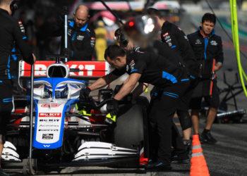 F1 Formula 1 Williams FW43 test car