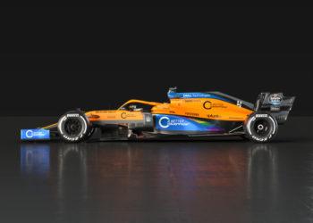 F1 Formula 1 McLaren MCL35 #WeRaceAsOne