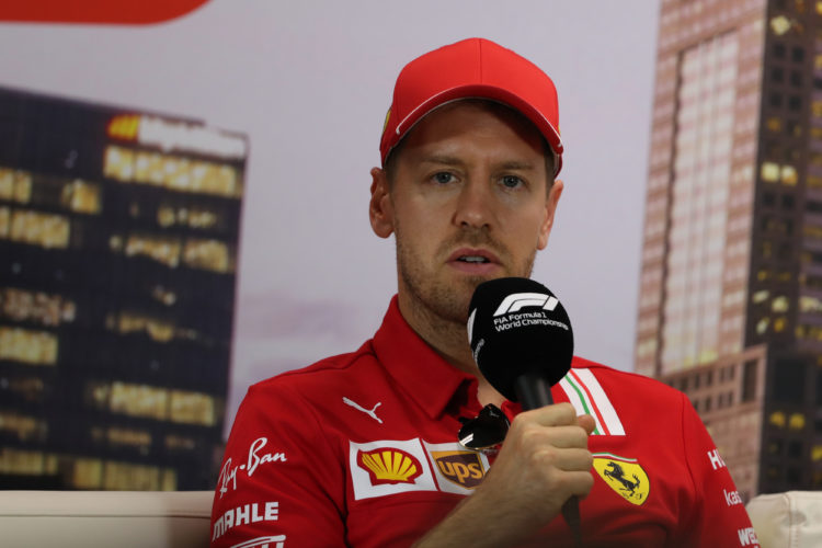 F1 Formula 1 Sebastian Vettel Ferrari