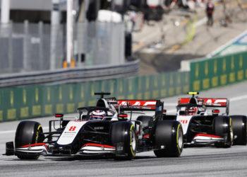 F1 Formula 1 Haas Romain Grosjean Kevin Magnussen Guenther Steiner brake