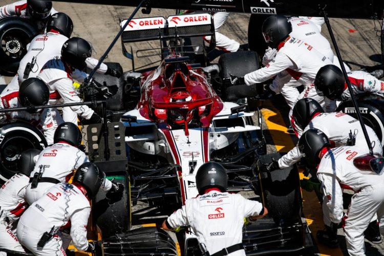 F1 Formula 1 Alfa Romeo Austrian Grand Prix Kimi Raikkonen