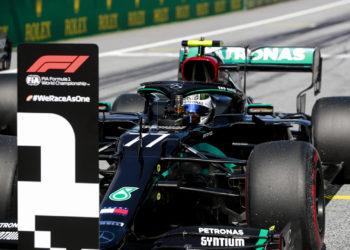 Bottas Mercedes Austrian Grand Prix
