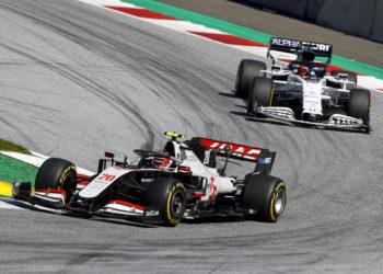 F1 Formula 1 Haas Grosjean Magnussen