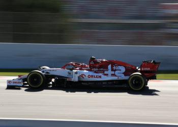 F1 Formula 1 Antonio Giovinazzi reserve Robert Kubica