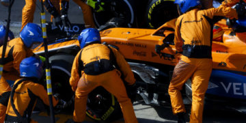 F1 Formula 1 McLaren Lando Norris grid penalty Styrian Grand Prix