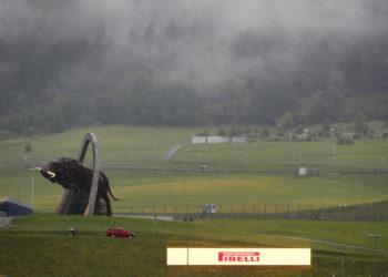 F1 Formula 1 Styrian grand Prix practice rain FP3