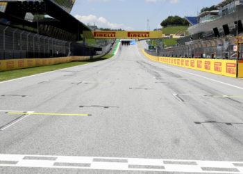 F1 Formula 1 Starting grid Styrian Grand Prix 2020
