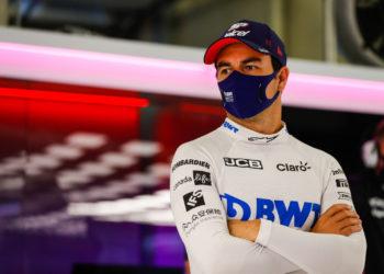 F1 Formula 1 Sergio Perez Racing Point Sebastian Vettel