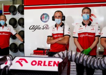 F1 Formula 1 Alfa Romeo Hungarian Grand Prix Kubica Raikkonen