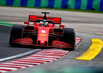 F1 Formula 1 Ferrari Sebastian Vettel Charles Leclerc Hungarian Grand Prix