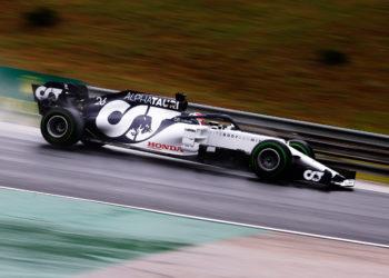 F1 Formula 1 Alpha Tauri Daniil Kvyat Hungarian Grand Prix practice results