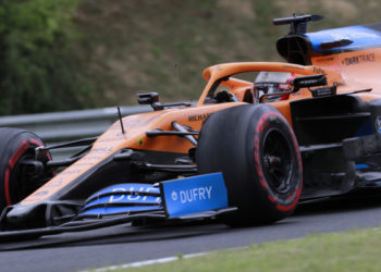 F1 Formula 1 McLaren Hungarian Grand Prix qualifying results