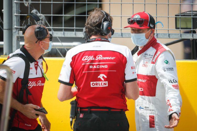 F1 Formula 1 Alfa Romeo Hungarian Grand Prix Raikkonen Giovinazzi