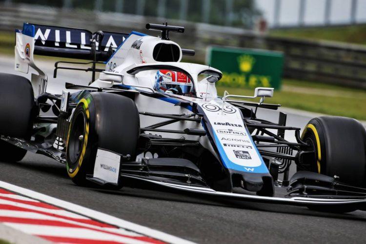 F1 Formula 1 Williams George Russell Nicholas Latifi Williams Hungarian Grand Prix