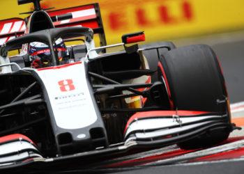 F1 Formula 1 Haas Hungarian Grand Prix Romain Grosjean Haas front wing Albon
