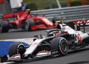 F1 Formula 1 Haas Romain Grosjean Kevin Magnussen protest driver aids Hungarian Grand Prix