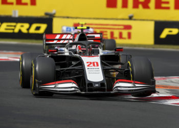 F1 Formula 1 Haas Kevin Magnussen Romain Grosjean time penalty Hungarian Grand Prix